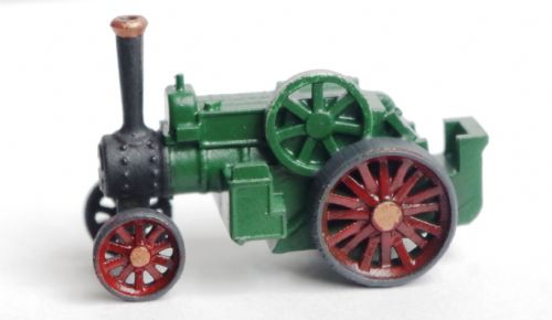 Arch Laser A3D0024 N Gauge Traction Engine Painted Green/red